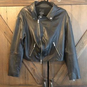 Trouve Leather Jacket size M